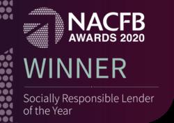 NACFB Winner - Socially Responsible Lender of the Year 2020